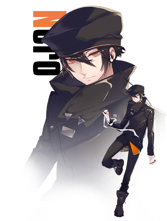 Tags: Anime, Fuyuomi, Rejet, Criminale!, Nero (Criminale!), Mobile Wallpaper, PNG Conversion, Official Art