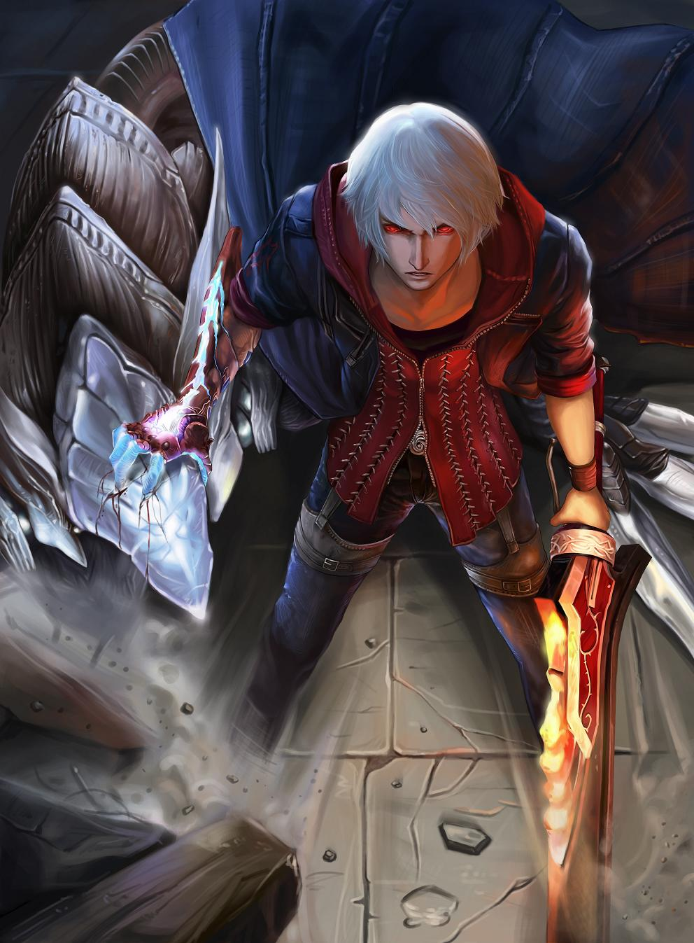 Nero Devil May Cry Zerochan Anime Image Board