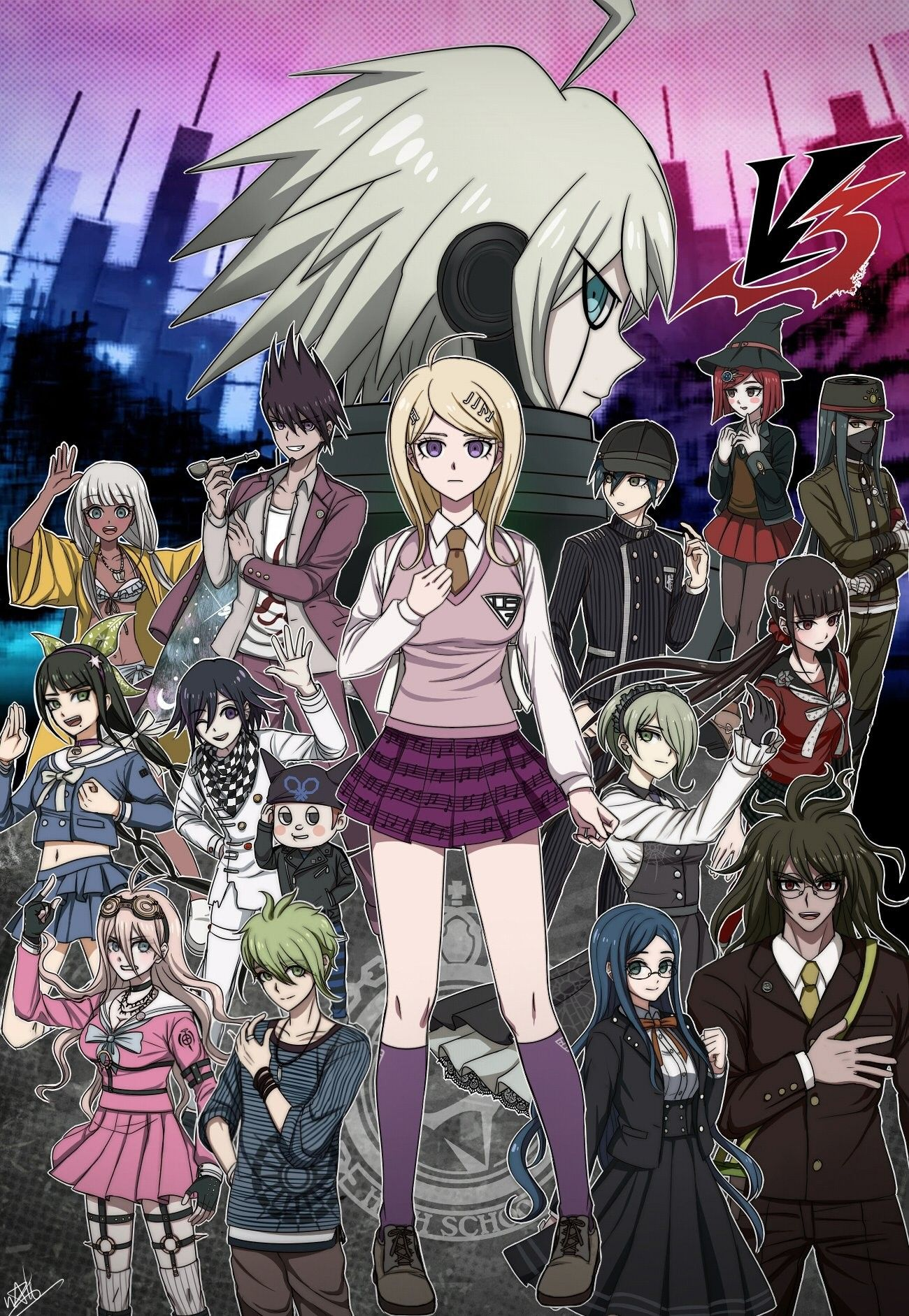 Danganronpa 3 Anime Characters : New danganronpa v killing harmony image