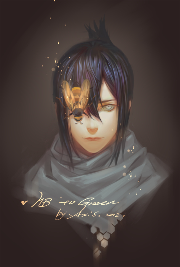 Tags: Anime, .Axis., No.6, Nezumi (No.6), Bee, Pixiv, Fanart From Pixiv, Fanart, PNG Conversion, Mobile Wallpaper