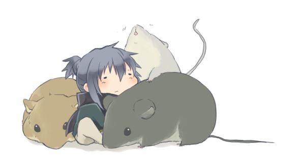 Tags: Anime, Watari Shouji, No.6, Nezumi (No.6), Pixiv, Facebook Cover