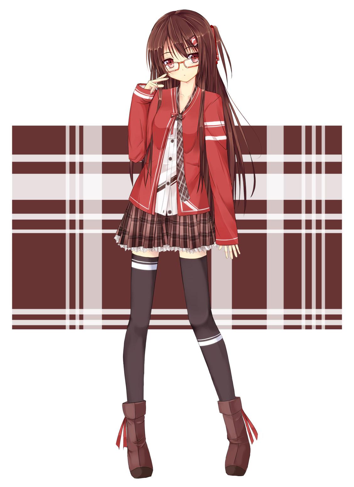 Фото аниме девушки во весь рост
