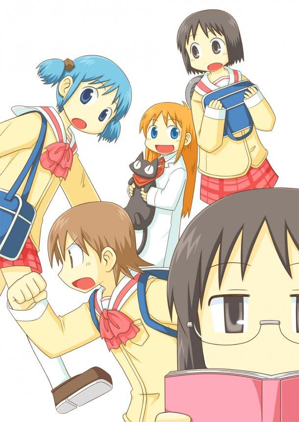 nichijou poster에 대한 이미지 검색결과