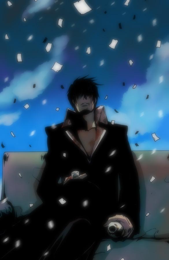 Tags: Anime, Trigun, Nicholas D. Wolfwood, Mobile Wallpaper