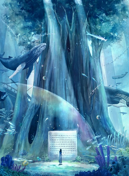 Tags: Anime, Megatruh, ONE PIECE, Nico Robin, Ship, Ocean, Shark