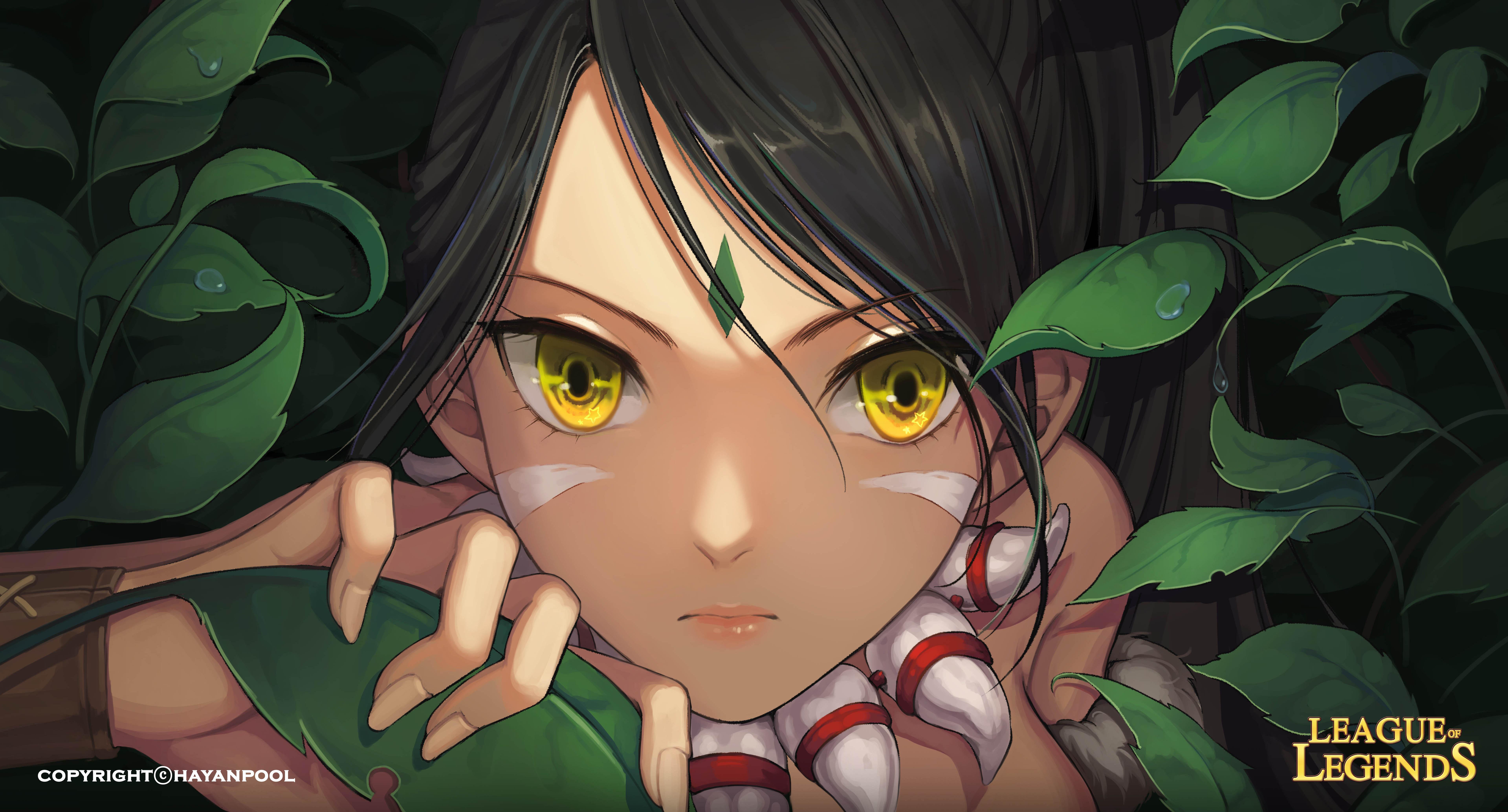 Nidalee League Of Legends Wallpaper 2018286 Zerochan Anime