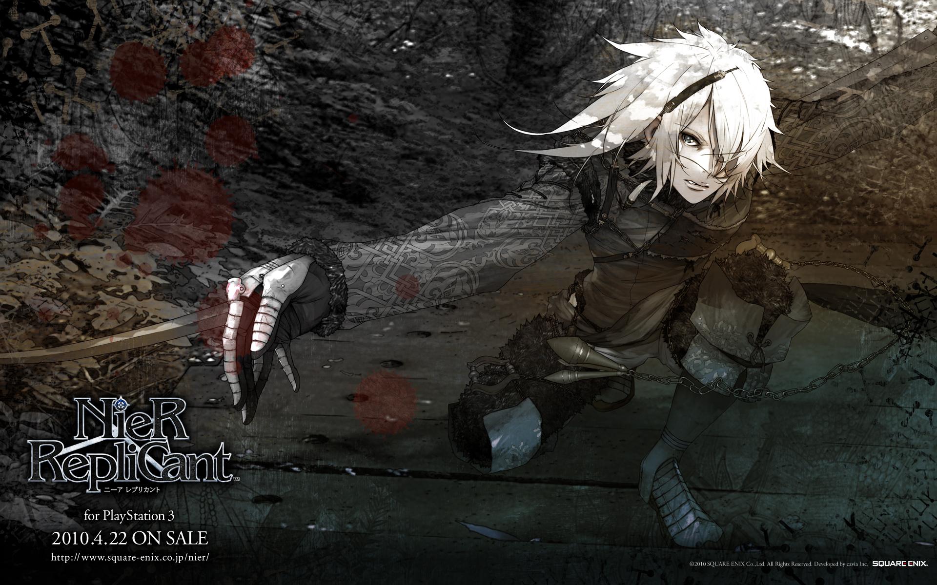 Nier (Character) Wallpaper #179380 - Zerochan Anime Image Board