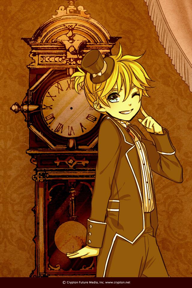 Tags: Anime, Suzunosuke, VOCALOID, Kagamine Len, Kodona, Night ∞ Series, Fanart, Mobile Wallpaper