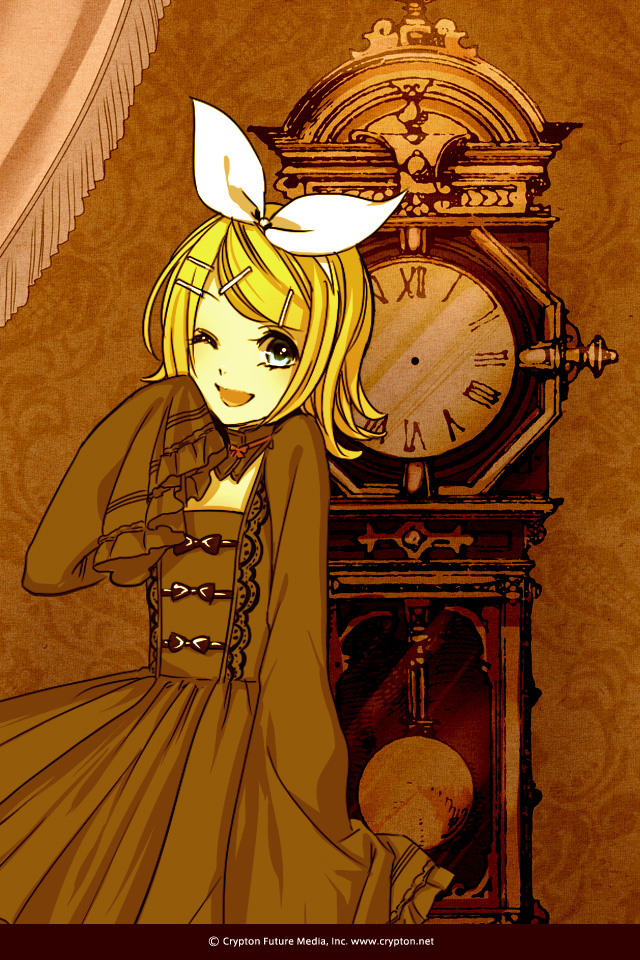 Tags: Anime, Suzunosuke, VOCALOID, Kagamine Rin, Mobile Wallpaper, Fanart, Night ∞ Series