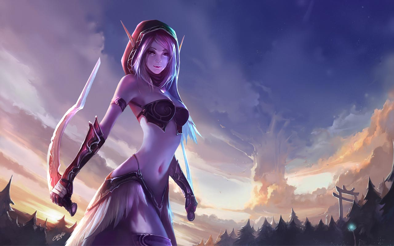 Removed (has world of warcraft night elves something