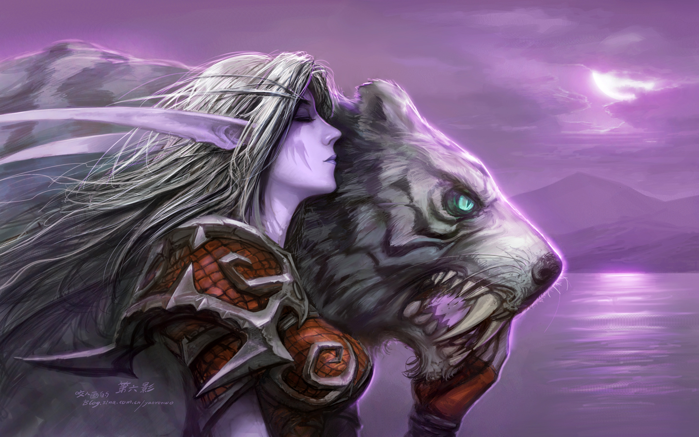 Very world of warcraft night elves can