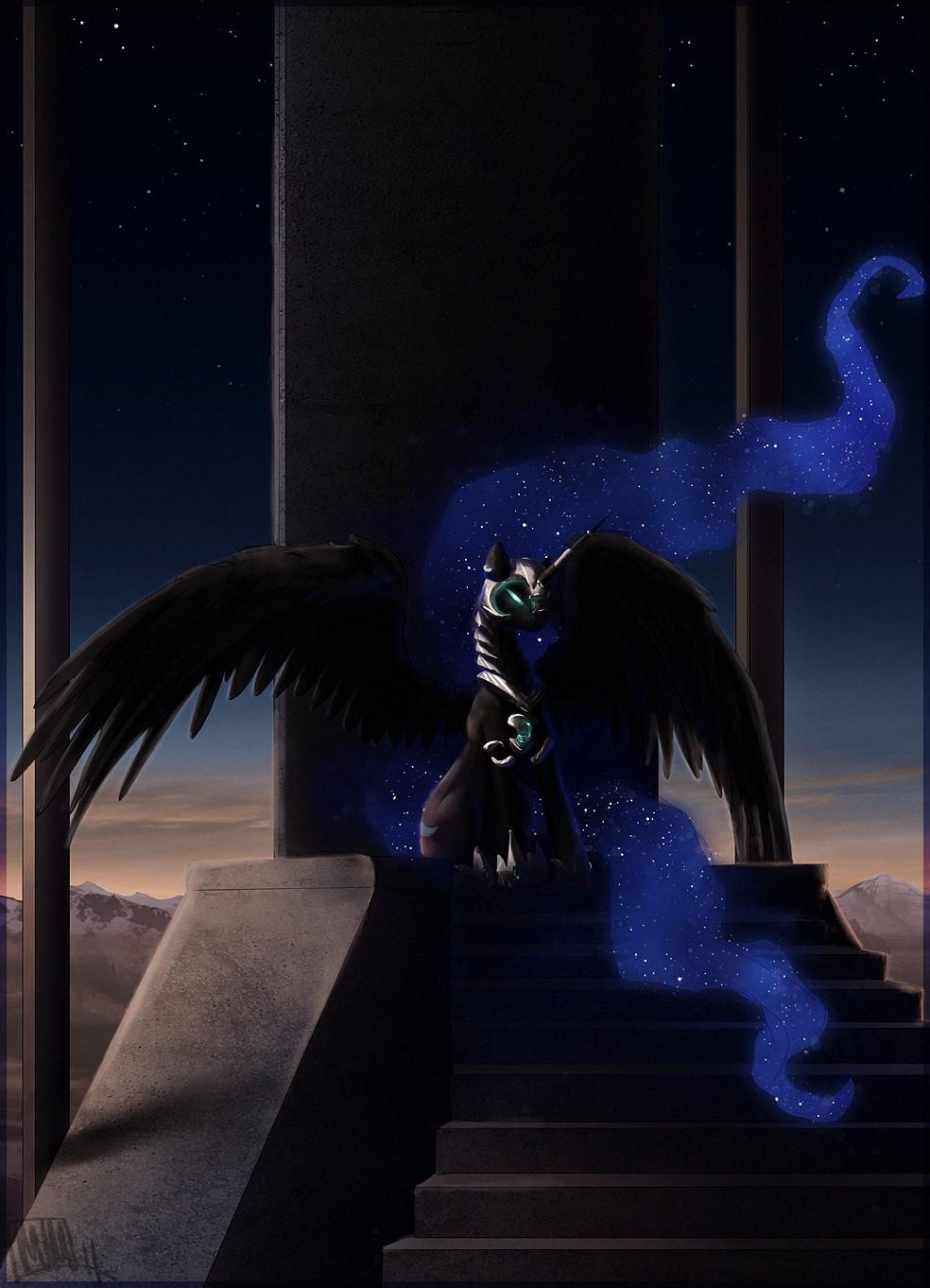Nightmare Moon My Little Pony Zerochan Anime Image Board
