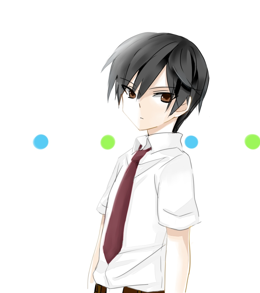 the gallery for gt anime little kid with black hair