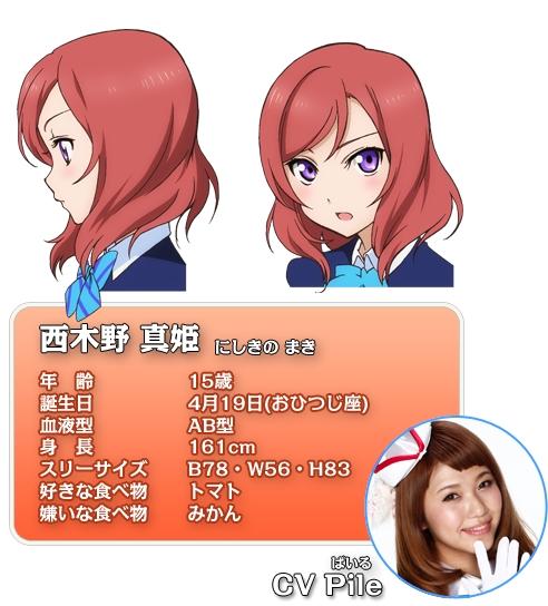 Tags: Anime, Love Live!, Pile (Va) (Character), Nishikino Maki, Official Character Information, Wonderful Rush, Official Art, Cover Image, Maki Nishikino