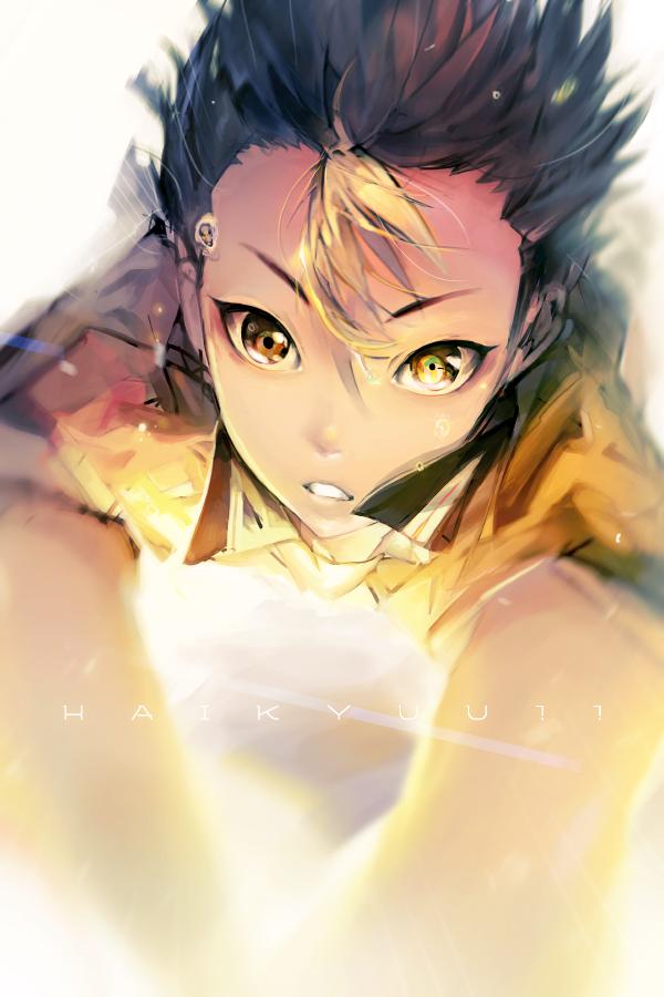 Tags: Anime, ZIS, Haikyuu!!, Nishinoya Yuu, Mobile Wallpaper, Pixiv, Fanart, Fanart From Pixiv, PNG Conversion