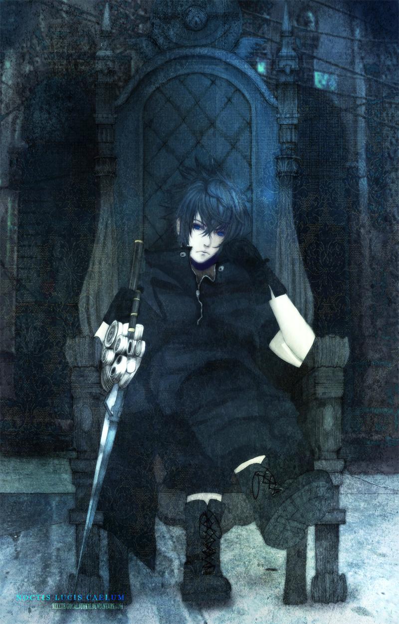 Noctis Lucis Caelum Throne Nixete/#1418385 - Zero...