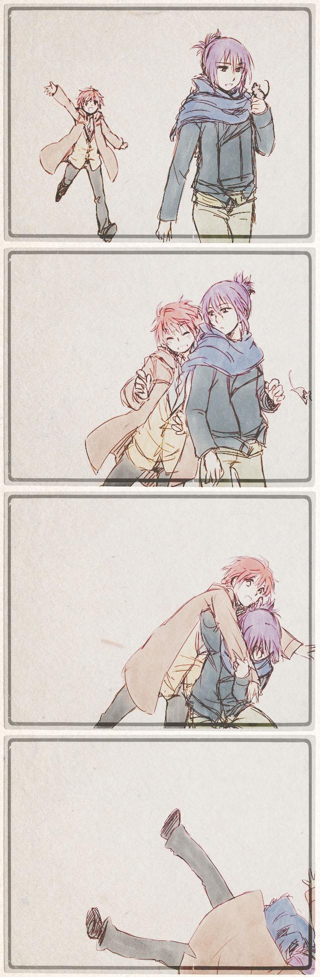Tags: Anime, Pixiv Id 1519309, No.6, Shion (No.6), Nezumi (No.6), Pixiv, Comic, NezuShi
