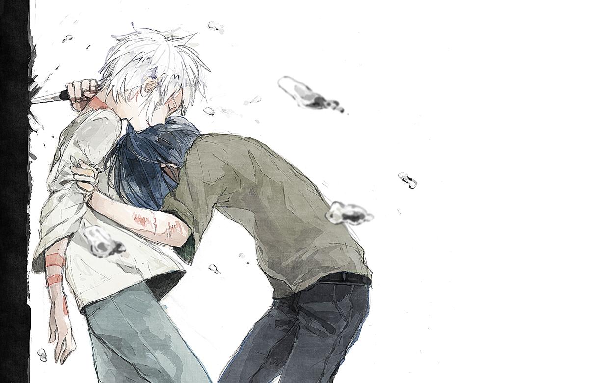 Грустные картинки со слезами аниме 7