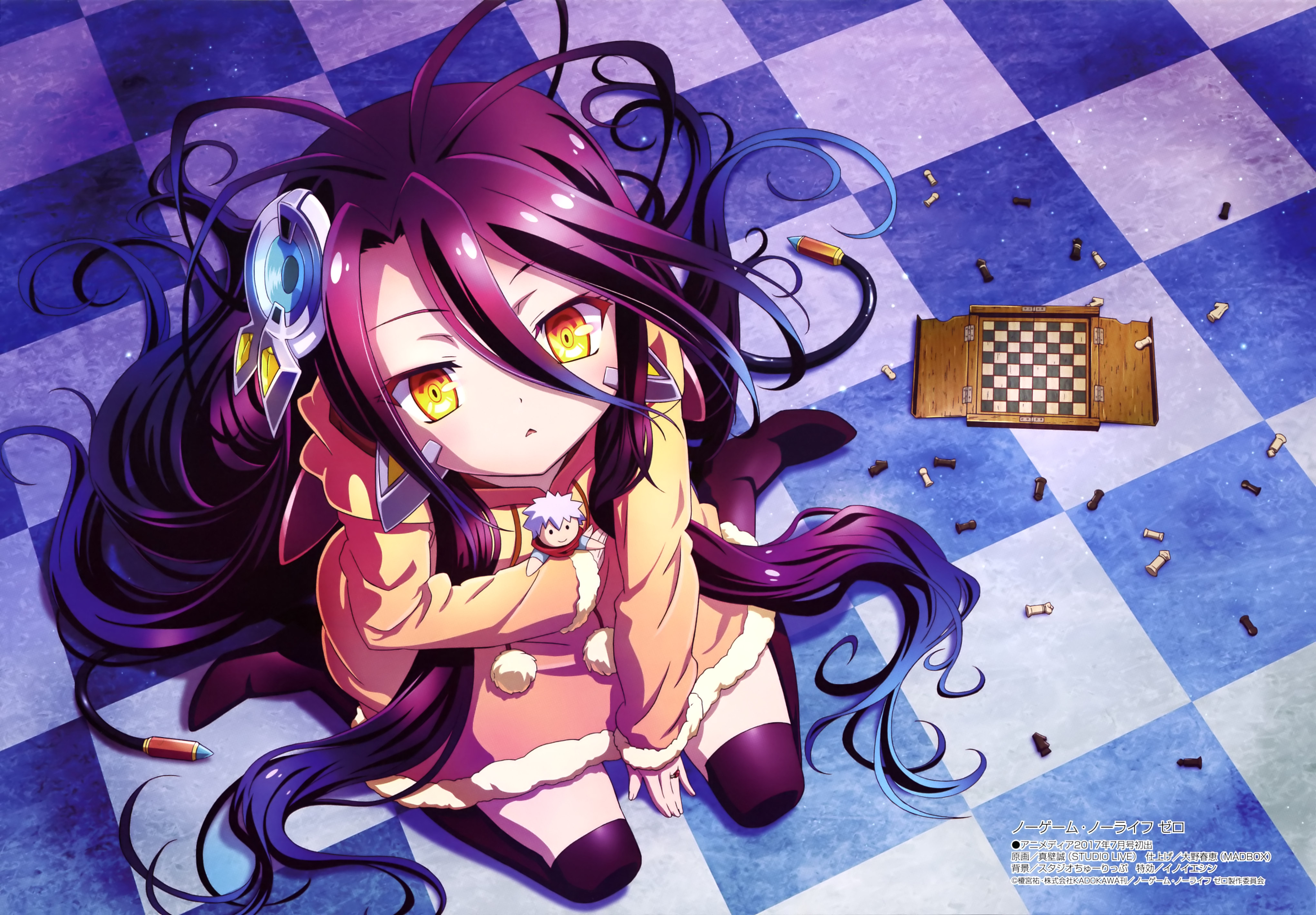No Game No Life Zero Zerochan Anime Image Board