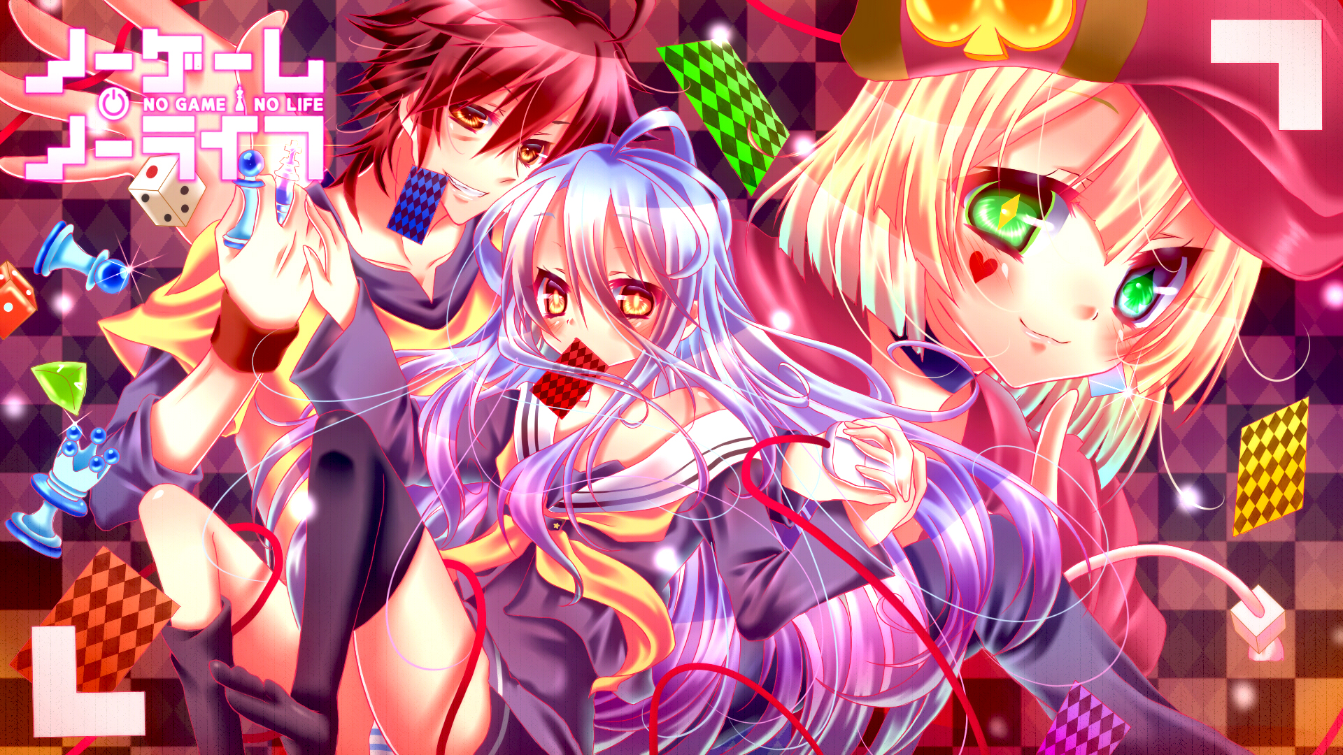 No Game No Life Hd Wallpaper 1708806 Zerochan Anime Image Board