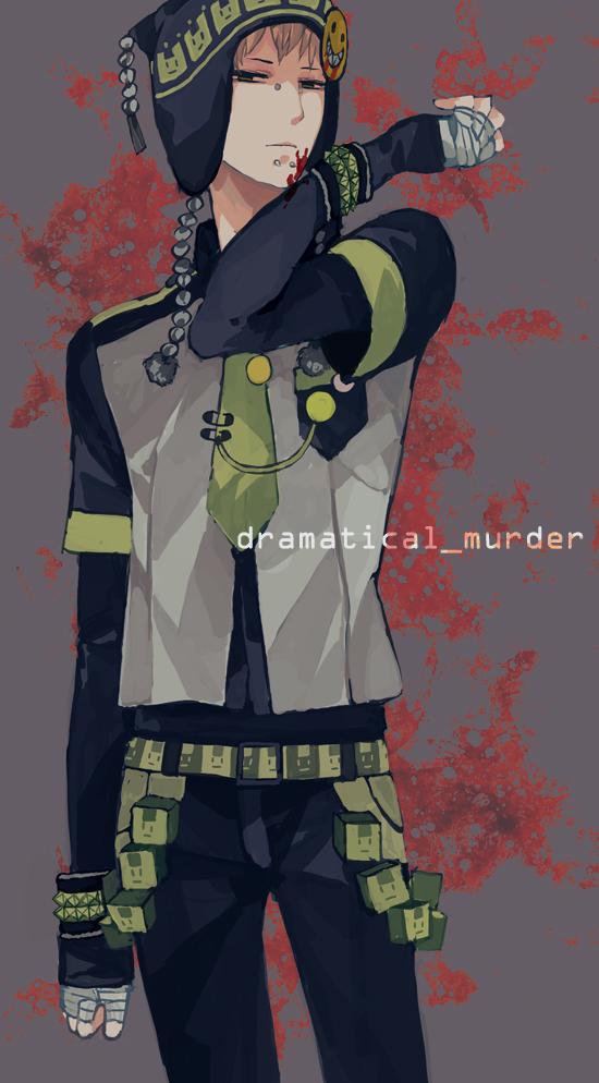 Tags: Anime, Monoxi, DRAMAtical Murder, Noiz (DMMd), Pixiv, Fanart, Mobile Wallpaper