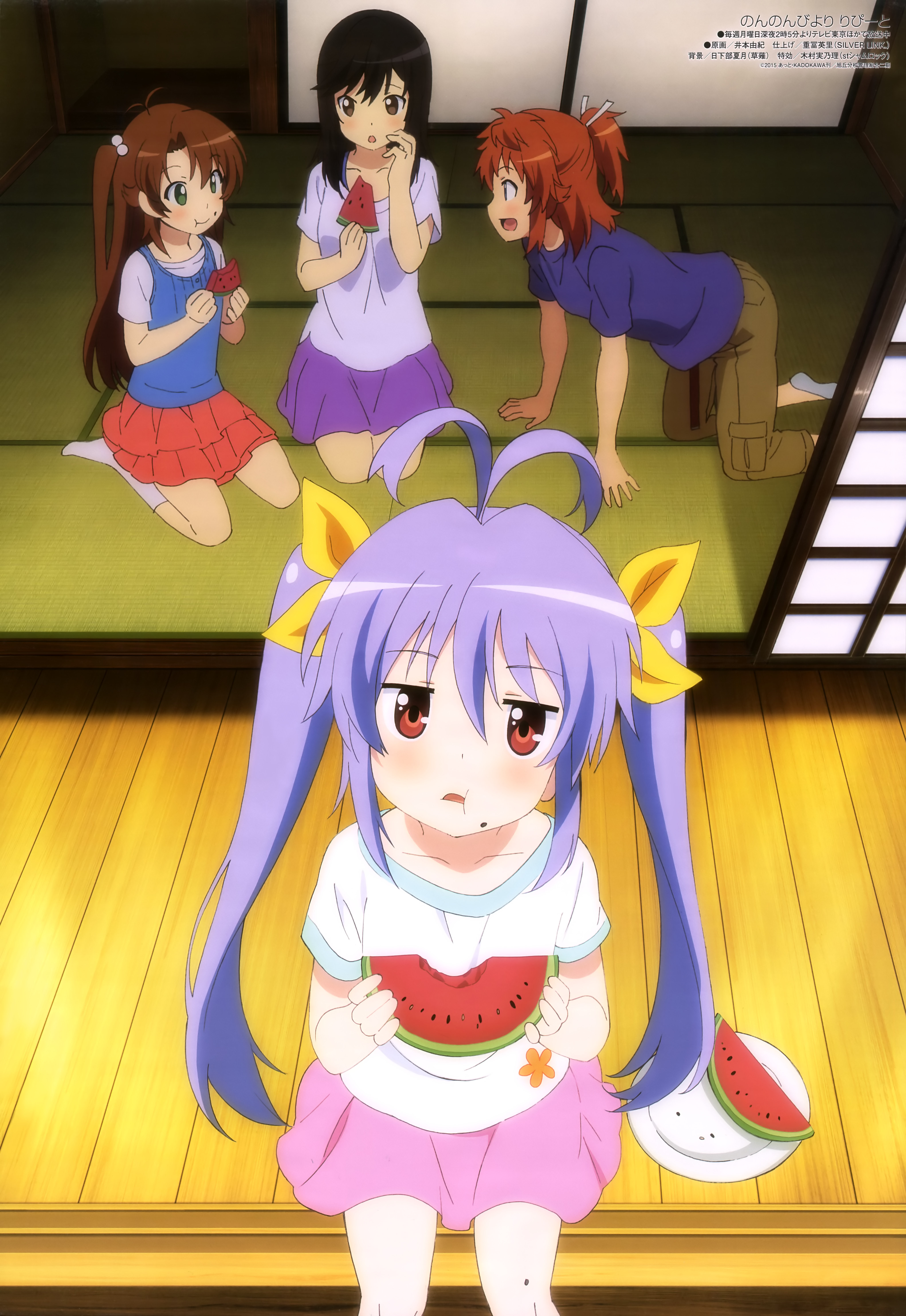 Non Non Biyori Zerochan Anime Image Board