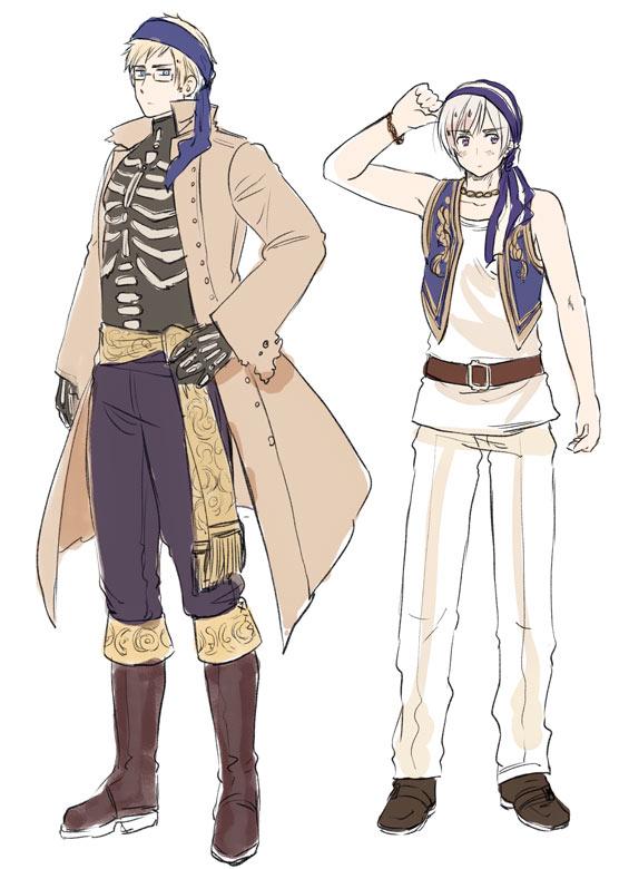 Hetalia Nordics Pirates