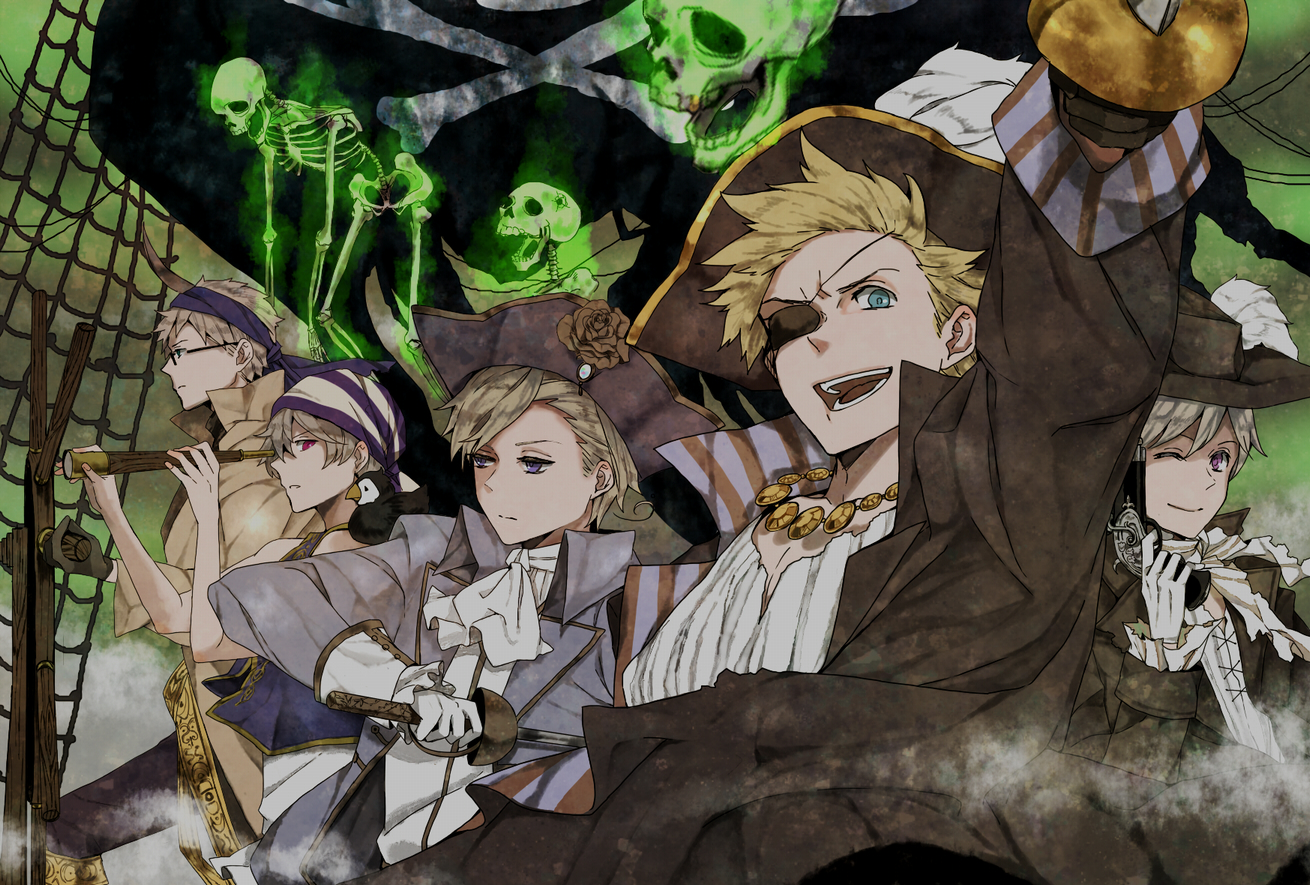 Hetalia Nordics Pirates