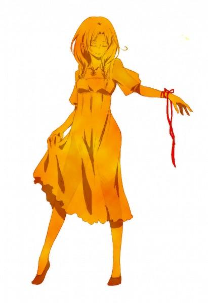Tags: Anime, Nibi Tori, Axis Powers: Hetalia, North Italy (Female), See Through Clothes, Skirt Lift, Axis Power Countries