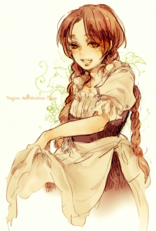 Tags: Anime, Pixiv Id 764085, Axis Powers: Hetalia, North Italy (Female), Italian Text, Fanart From Pixiv, Fanart, Mobile Wallpaper, Nyotalia, Pixiv, Axis Power Countries