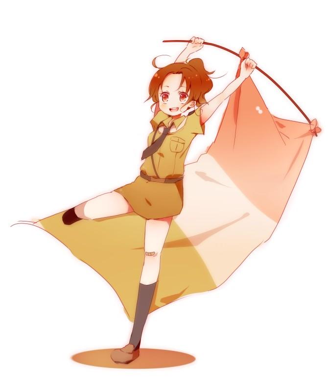 Tags: Anime, Pixiv Id 2239153, Axis Powers: Hetalia, North Italy (Female), Fanart, Nyotalia, Pixiv