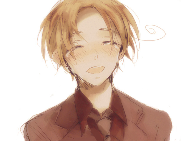 Tags: Anime, Fanart, Sketch, Axis Powers: Hetalia, North Italy