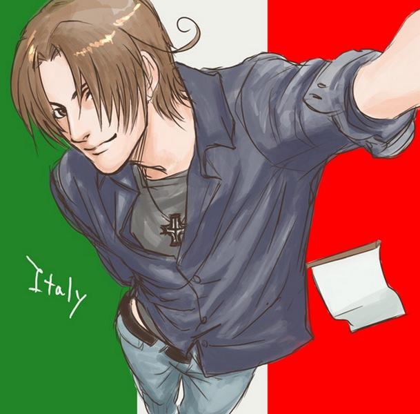 Tags: Anime, Natu Yasai, North Italy, Flag Background