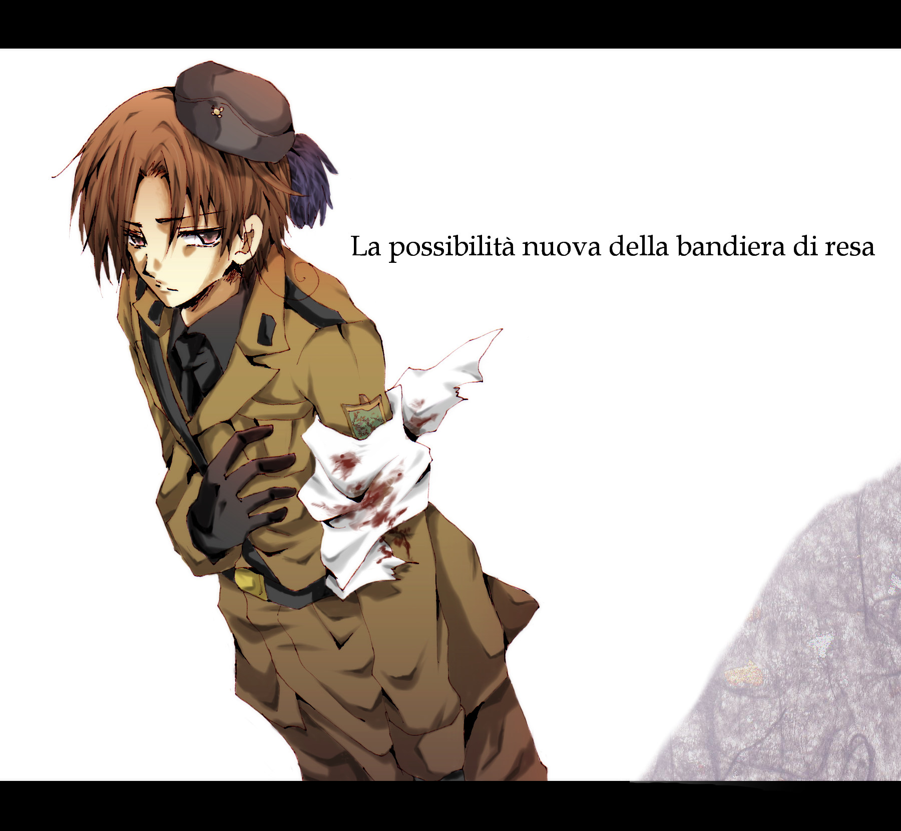 List of Synonyms and Antonyms of the Word: hetalia italy wounded