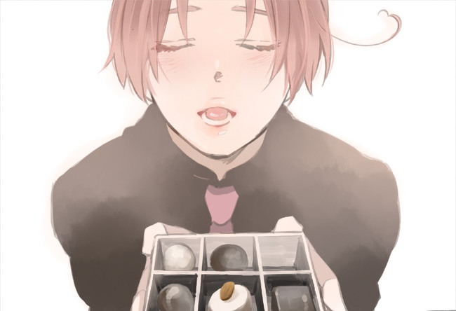 Tags: Anime, Hakoniwa, Axis Powers: Hetalia, North Italy, Chocolate Box, Mediterranean Countries, Axis Power Countries