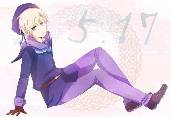 Tags: Anime, Pixiv Id 630626, Axis Powers: Hetalia, Norway, Sitting On Floor, Sailor Hat, Sailor Suit