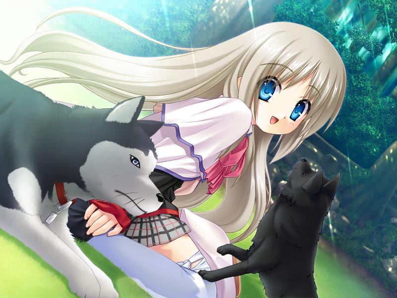 Картинки из аниме с животными