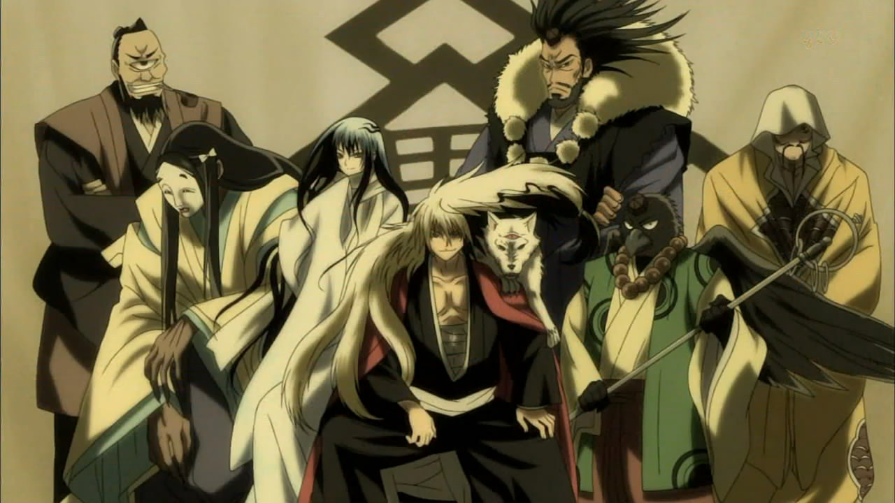 Nurarihyon No Mago Nura Rise Of The Yokai Clan Wallpaper