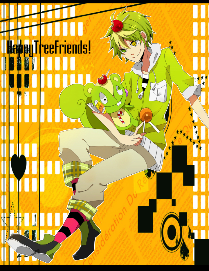 Nutty - Happy Tree Friends - Image #490359 - Zerochan ...