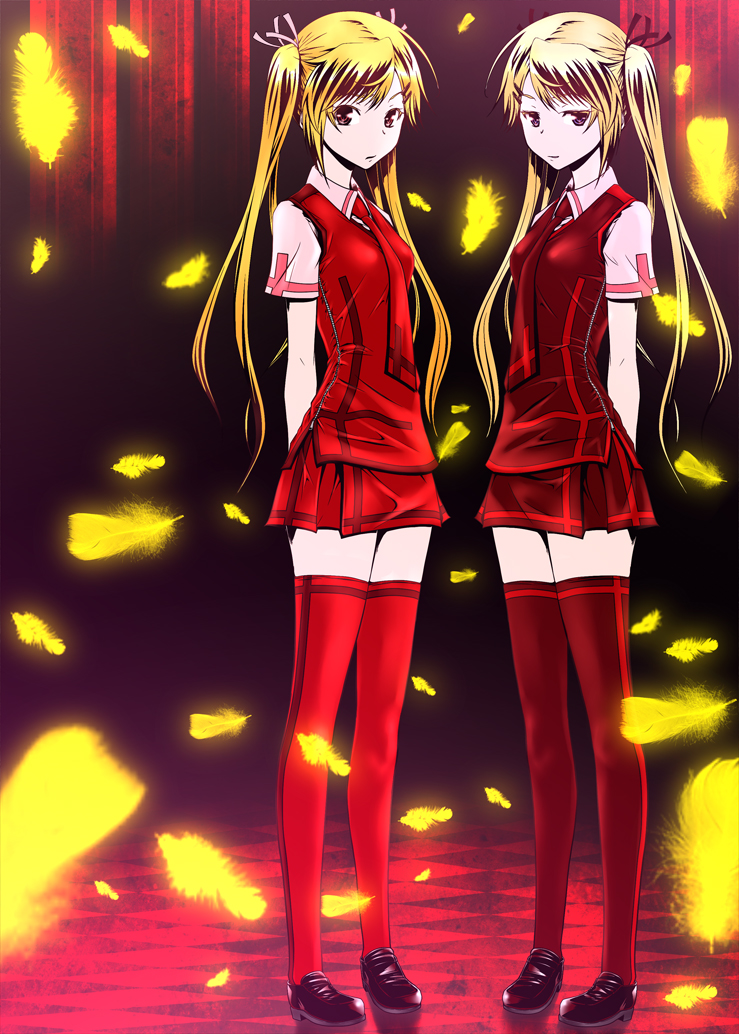Tags  Anime  Zucchini  Nyan Koi  Kirishima Kotone  Kirishima AkariNyan Koi Kotone