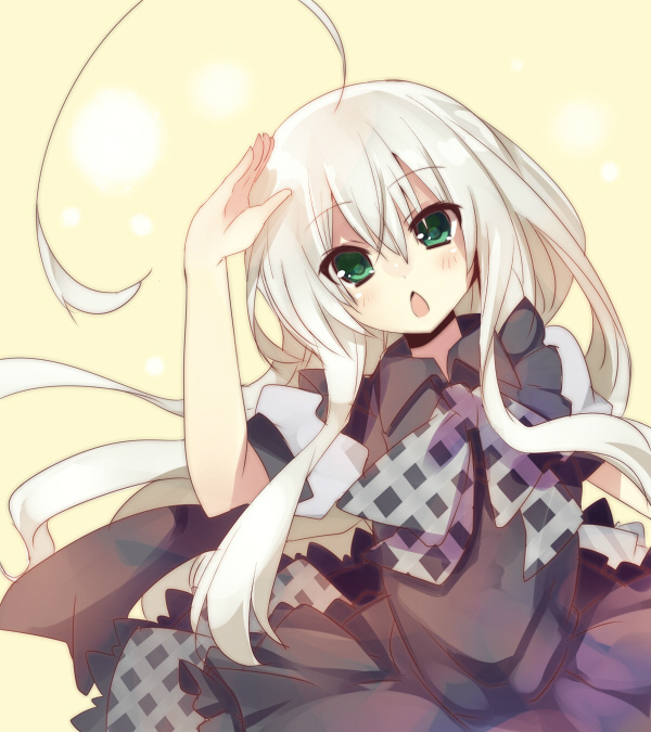 Tags: Anime, Mishima Kurone, Haiyore! Nyaruko-san, Nyarlko