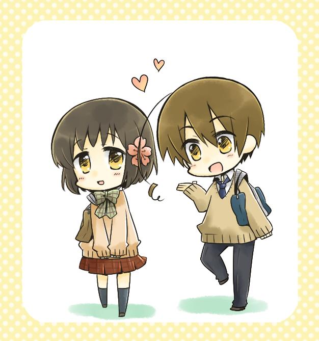 Tags: Anime, Nyosuke, Axis Powers: Hetalia, Japan (Female), Taiwan (Male), Nyotalia, Asian Countries, Axis Power Countries