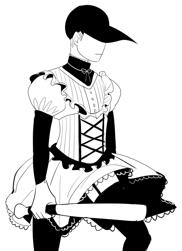 Tags: Anime, OFF (Game), The Batter