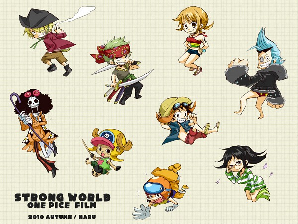 Tags: Anime, ONE PIECE, Nami, Sanji, Franky