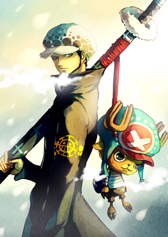 Trafalgar Law Mobile Wallpaper Zerochan Anime Image Board
