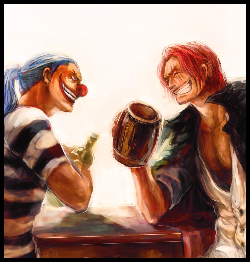 Red Hair Pirates One Piece Zerochan Anime Image Board