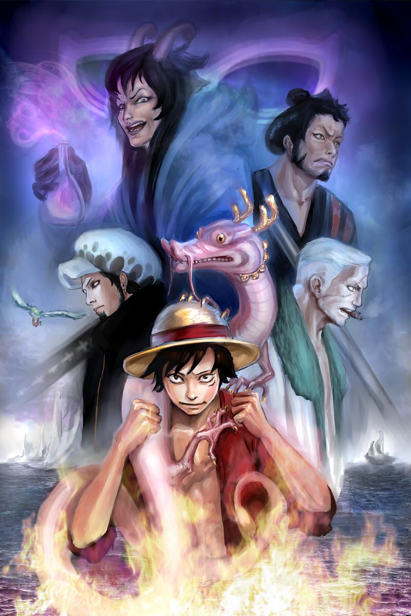 One Piece Mobile Wallpaper 1501559 Zerochan Anime Image Board
