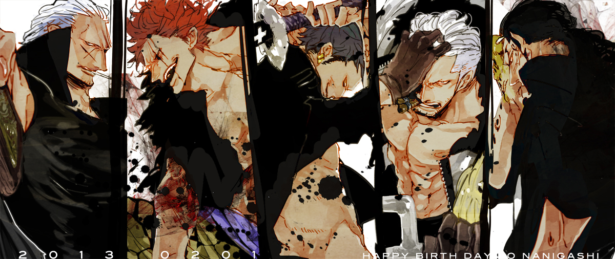 Red Hair Pirates One Piece Zerochan Anime Image Board