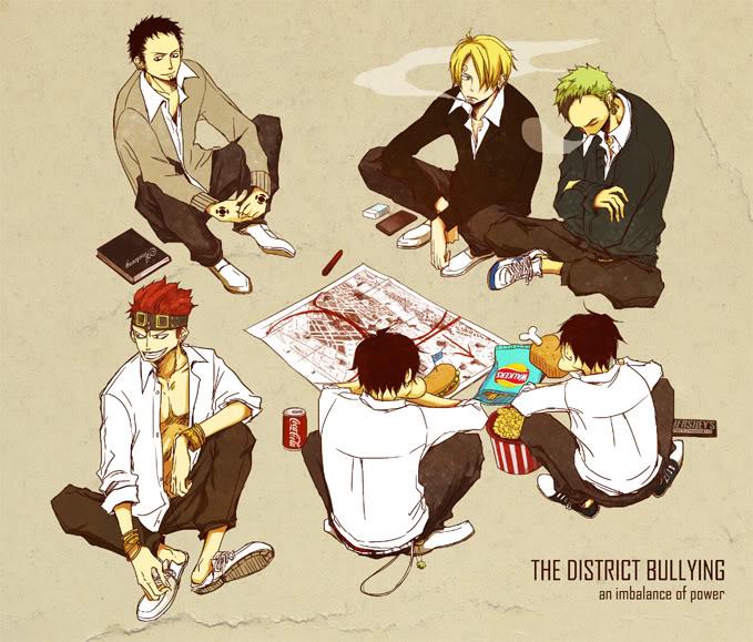 Tags: Anime, Milk (Pixiv1622971), ONE PIECE, Portgas D. Ace, Monkey D. Luffy, Eustass Kid, Roronoa Zoro, Trafalgar Law, Sanji, Fanart, Pixiv, Fanart From Pixiv