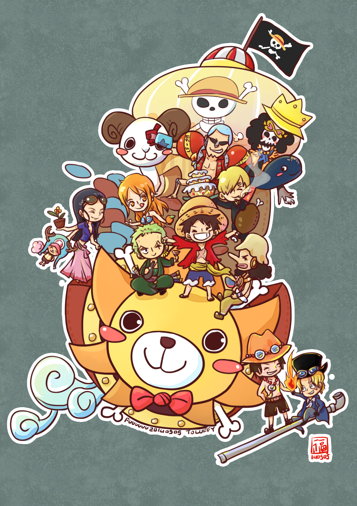 Brook One Piece Wallpaper Iphone Doraemon